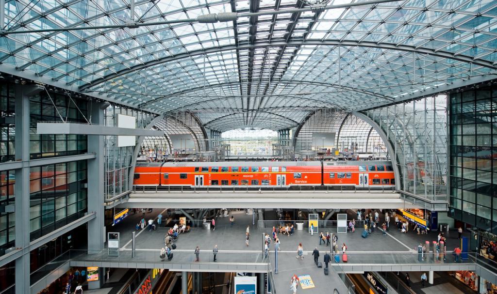 самый крупный железнодорожный вокзал Европы