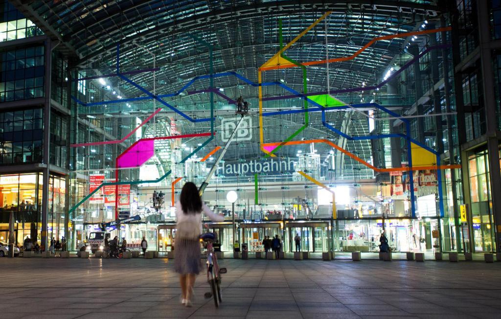 главный вокзал Берлина