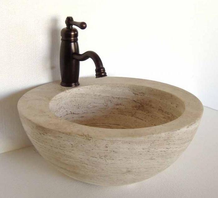 Раковины из камня. Раковина на кухню, в ванную