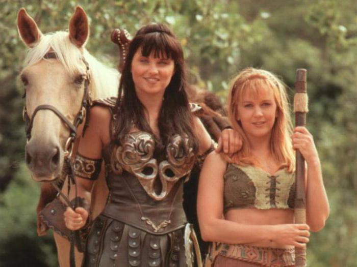 "Сериал ""Зена - королева воинов"": актеры, роли, съемочная ... Зена Королева Воинов Актеры"