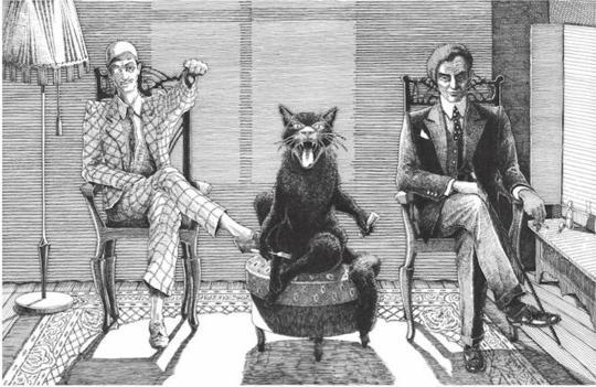 Сочинение мастер и маргарита персонажи книге — pic 13