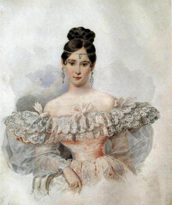 жена александра пушкина