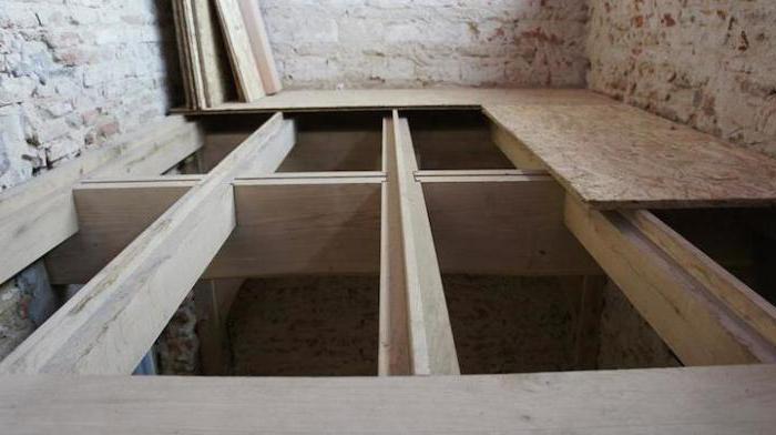 пол из фанеры по лагам своими руками на 2 этаже