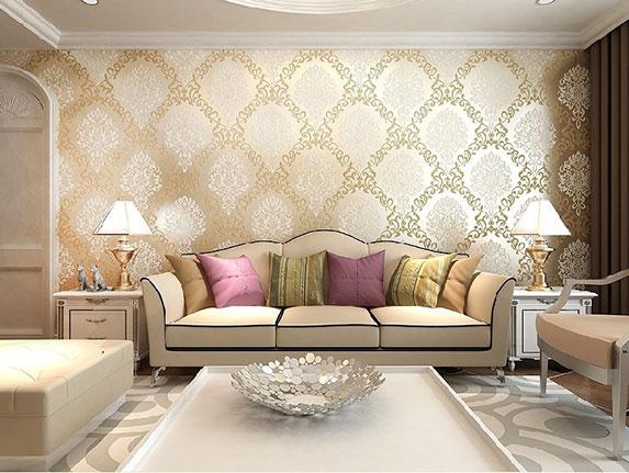 Wallpaper silk-screen printing for walls