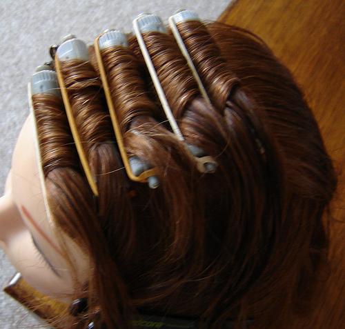 Виды химической завивки волос крупными локонами