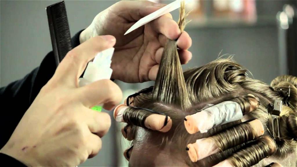 Отзывы о химической завивке волос крупными локонами