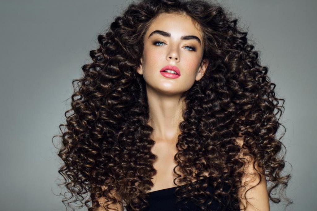 Цена химической завивки волос крупными локонами