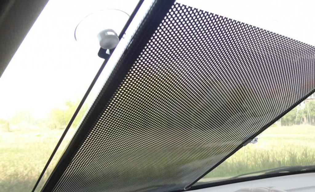 Rear window blind