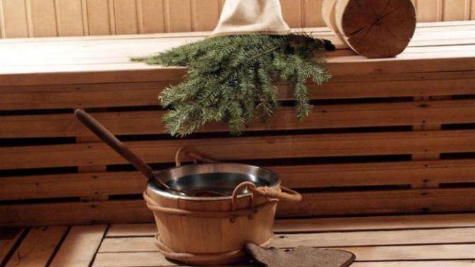 как запарить еловый веник для бани