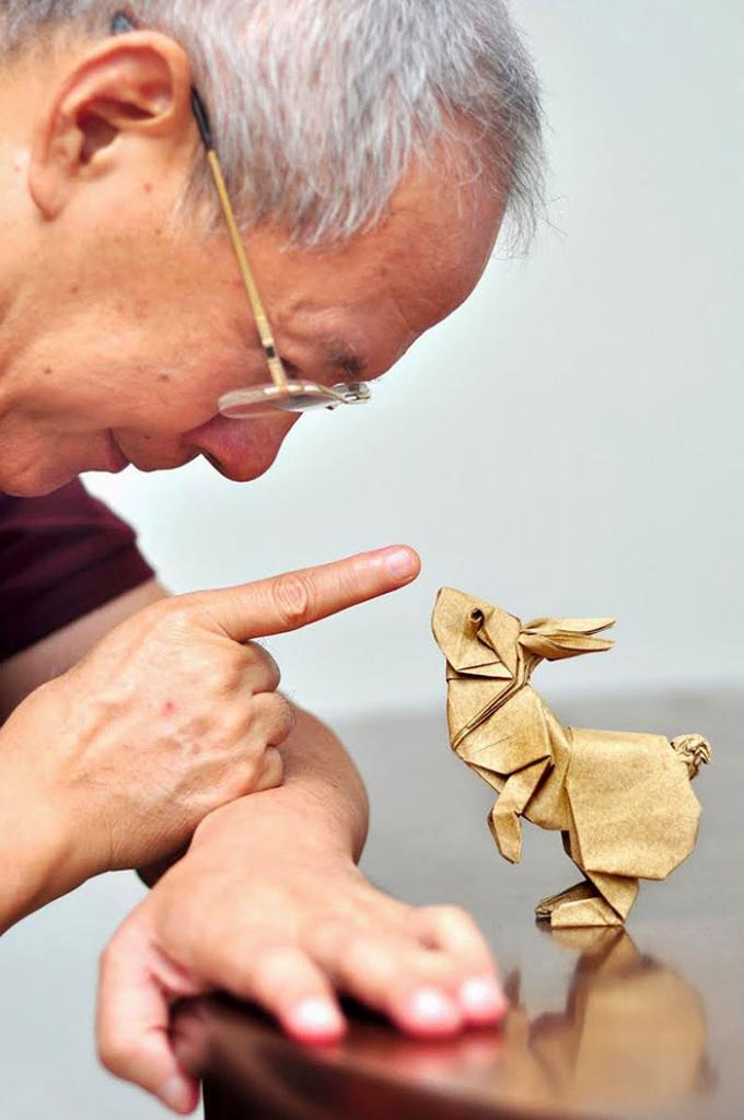 Техника работы с бумагой оригами