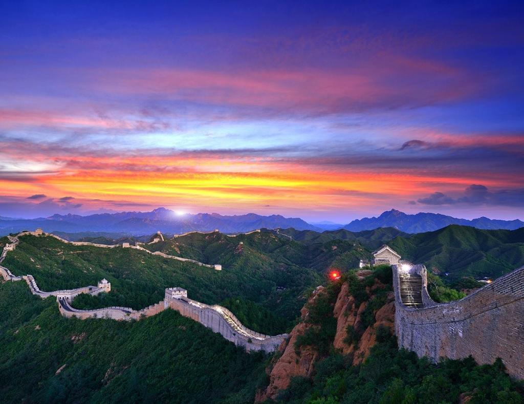 приём картинки китайской стен фотодень это, первую