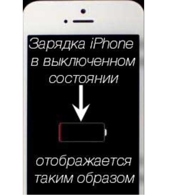 как понять что айфон зарядился полностью