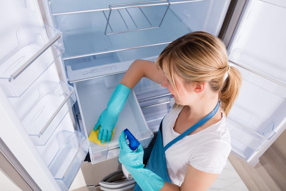Чем отмыть холодильник внутри от запаха: способы и советы