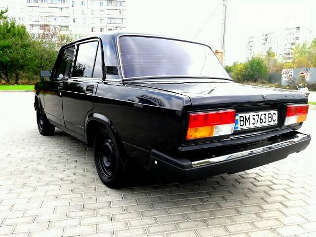 Black VAZ 2107 clearance