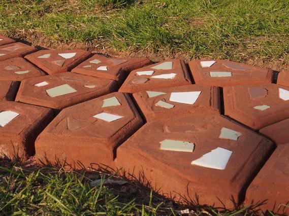 форма опалубка для изготовления садовой дорожки