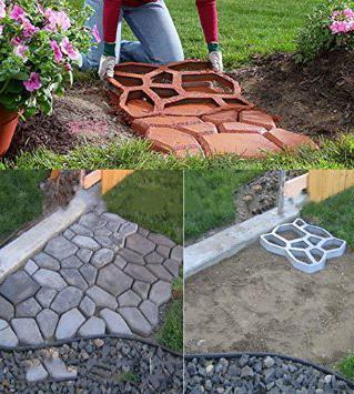 опалубка для садовых дорожек отзывы