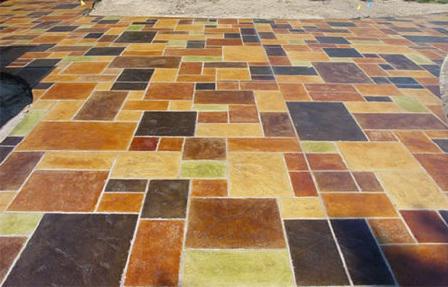 красители для изготовления тротуарной плитки