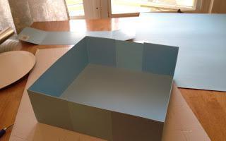 коробка для капкейков своими руками