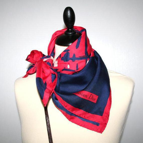 Как красиво повязать платок