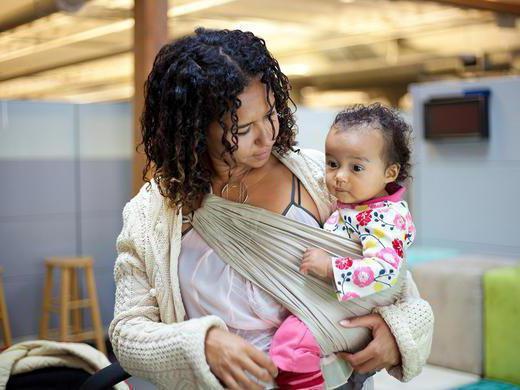 нужен ли слинг для новорожденных отзывы