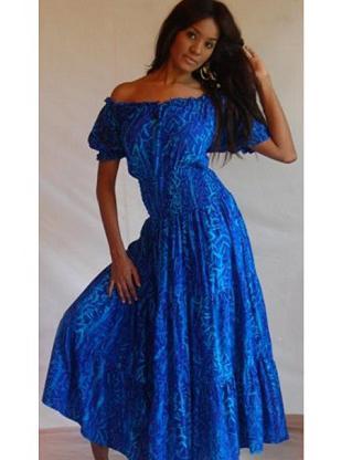 платье барышня крестьянка