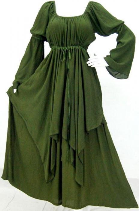 платье крестьянка с открытыми плечами