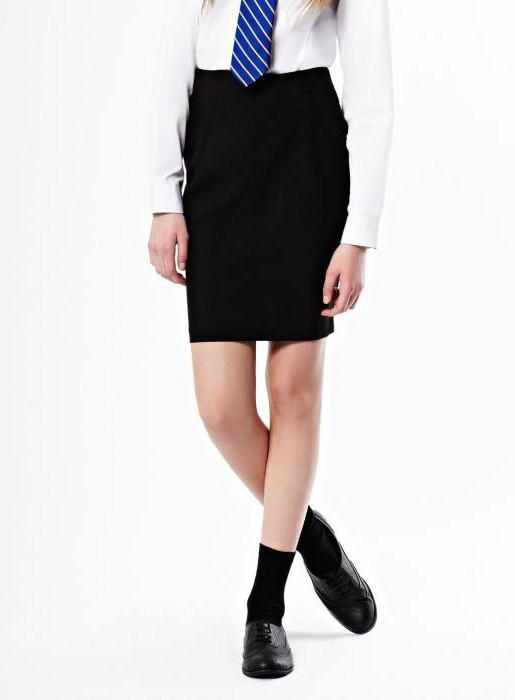 Школьные юбки для старшеклассников