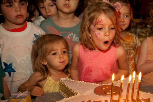конкурсы на день рождения ребенка 5 лет