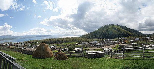 Озеро Маркаколь (Казахстан)