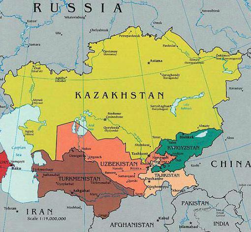Климат Центральной Азии