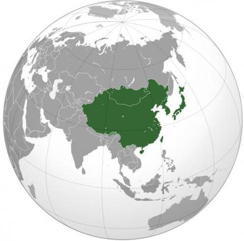 Климат Восточной Азии
