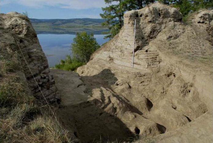 Крепость на озере Тере-Холь