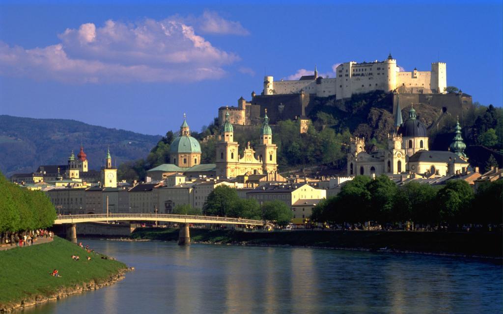 Дворцы и замки Зальцбурга: фото, описание