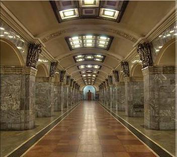 Самая глубокая станция метро в Санкт-Петербурге