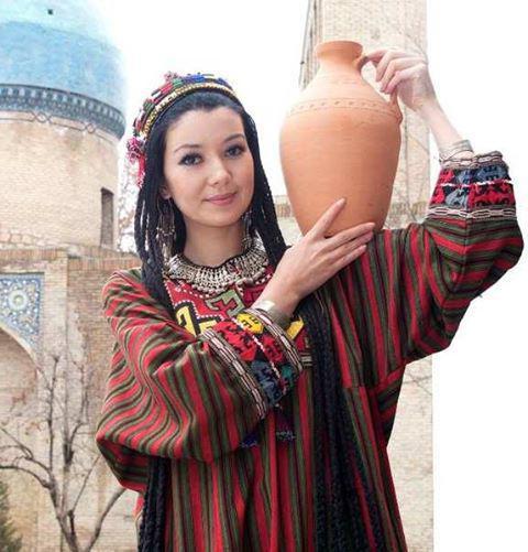 Как называется узбекское платье
