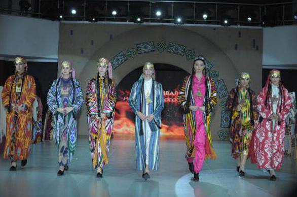 Узбекские национальные платья