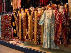 Узбекские платья (фото)