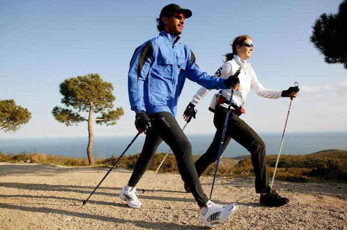 скандинавская ходьба польза
