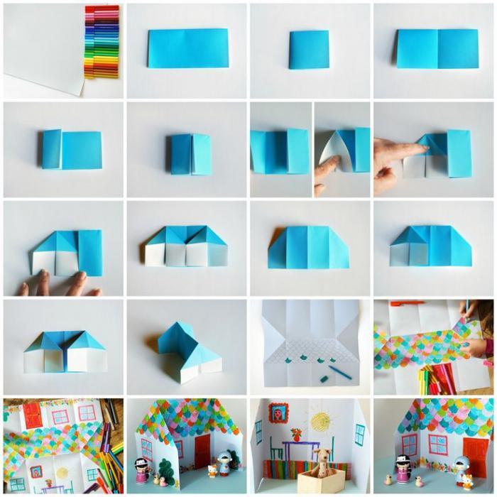 Оригами для детей 4-5 лет: схемы и идеи