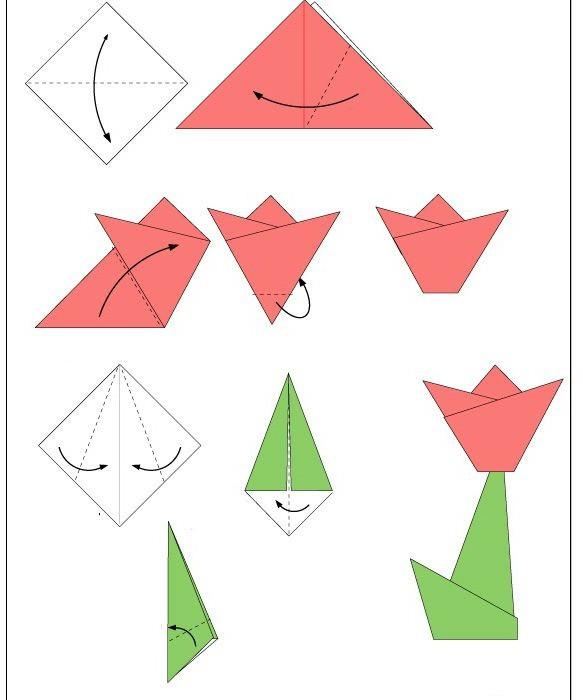 Origami Untuk Kanak 4 5 Tahun
