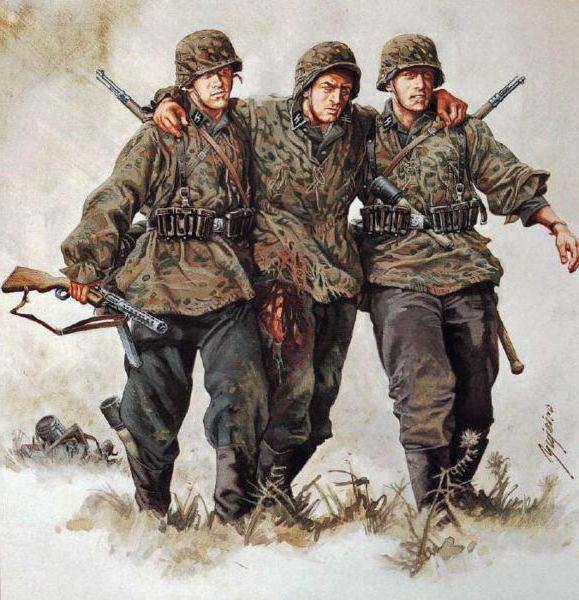 Форма солдат вермахта СС