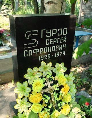 Гурзо Сергей Сафонович причина смерти