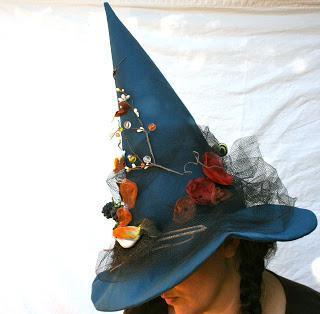 осенняя шляпа своими руками