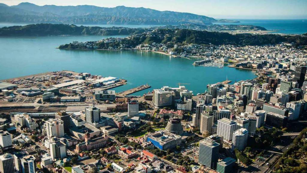 новая зеландия фото столица идее пещера