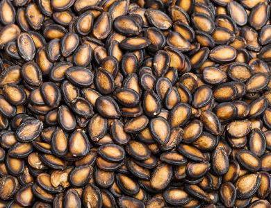 как сделать поделки из арбузных семечек