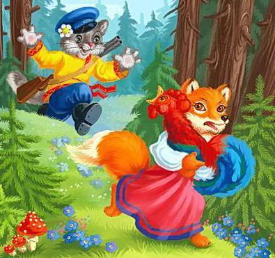Кот петух и лиса читать бесплатно