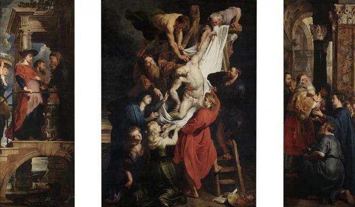 "Painting by Rubens ""the descent from the cross"" – a religious penance"