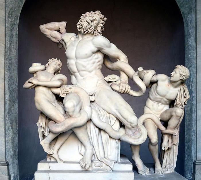 лаокоон с сыновьями описание скульптуры
