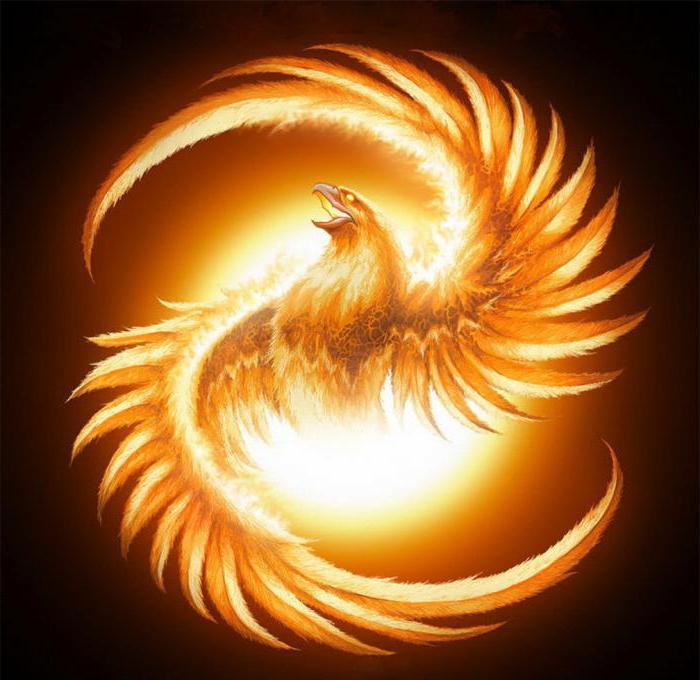 значение птицы феникс в мифологии