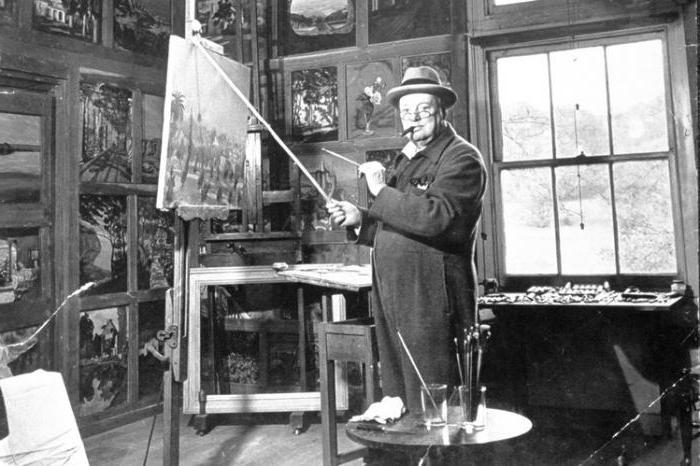 The paintings of Churchill: history of beauty